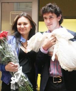 Юрий Жирков с семьей