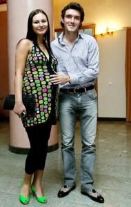 Юрий Жирков с женой